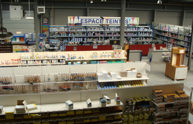 Photos du magasin de Tournai