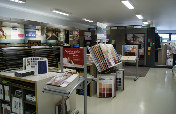 Photos du magasin de Namur